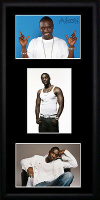 Akon Framed Photographs PB0566