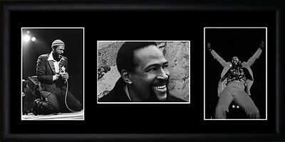 Marvin Gaye Framed Photographs PB0319