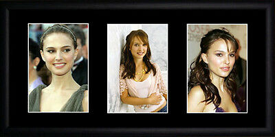 Natalie Portman Framed Photographs PB0497