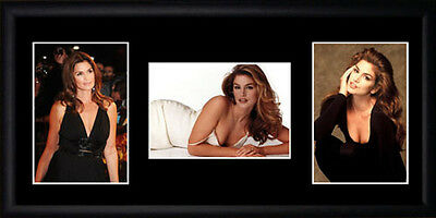 Cindy Crawford Framed Photographs PB0653