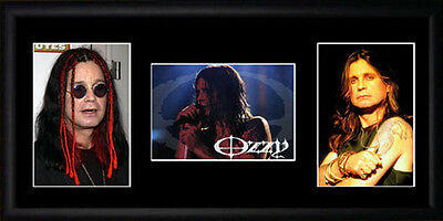 Ozzy Osbourne Framed Photographs PB0171