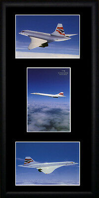 Concorde  Framed Photographs PB0106
