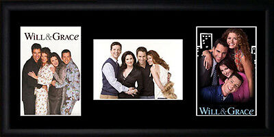 Will & Grace Framed Photographs PB0402
