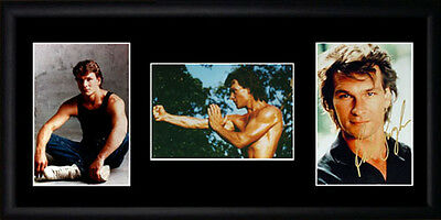 Patrick Swayze Framed Photographs PB0404