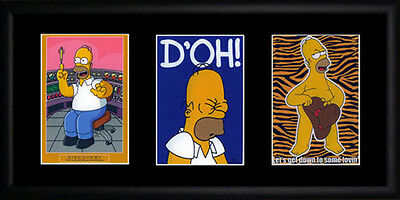 Homer Simpson Framed Photographs PB0440