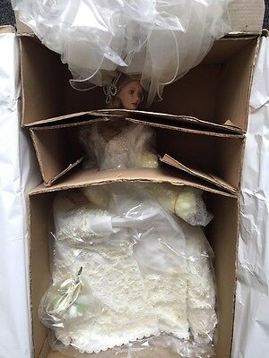 Ashton Drake Doll Porcelain Bride Doll Melody Forever Starts Today McClure
