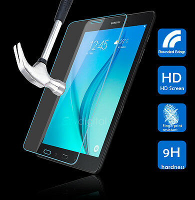 9H Tempered Glass Screen Protector F Samsung Galaxy Tab A 8.0 9.7 10.1 10.5 S5e