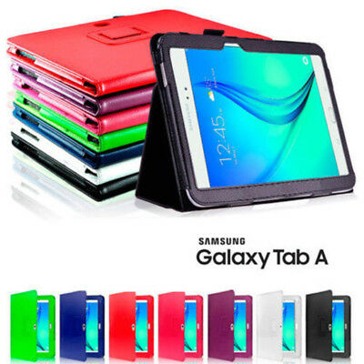 "Flip Leather Case Cover For Samsung Galaxy Tab A 10.1"" 9.7"" 8.0"" 7.0""  T350 T580"