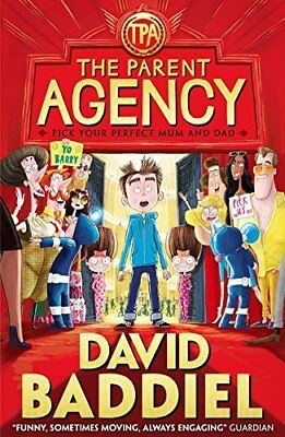 The Parent Agency by David Baddiel New Paperback Book