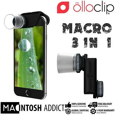 Olloclip Macro PRO 3-In-1 Lens Kit For iPhone 6/6 Plus |7x 14x 21x Magnification