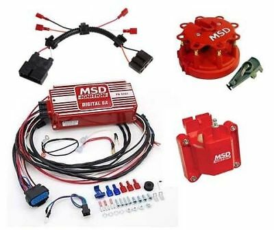MSD 9975 Ignition Upgrade Kit 86-95 Mustang 5.0L Digital 6A Box/Coil/Cap & Rotor