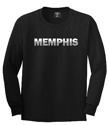 Memphis Tennessee State City Long Sleeve T-Shirt