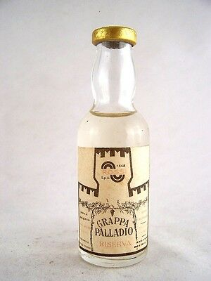 Miniature circa 1976 Grappa Palladio Isle of Wine