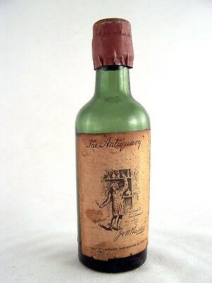 Miniature circa 1948 The Antiquary Whisky Isle of Wine