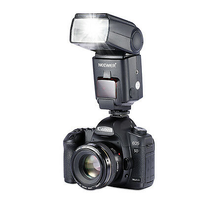 Neewer NW680/TT680 HSS Speedlite Flash E-TTL Camera Flash for Canon 5D MARK 2 6D