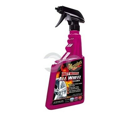 Detergente Cerchi Meguiars Hot Rims All Wheel Cleaner 710Ml Auto Pulizia Cura