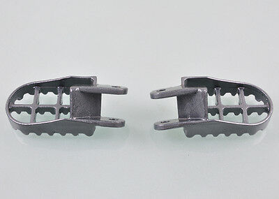 cock FootPegs Foot Pegs For Honda CR 80 XR250 XR350R XR400 XR600R XR650L XR650R