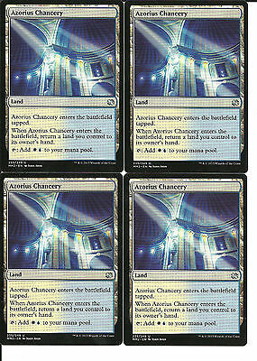 mtg Magic 4x Azorius Chancery ( Tribunal azorio ) English Modern Masters 2015 NM