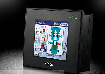 """5.6"""" inch HMI Touch Screen Panel Ethernet &Programming Cable KINCO New in box"""