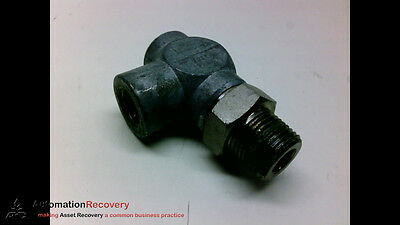 Norgren Ra12F3M-G Manual Flow Control Valve 90 Degree Angle, New* #196098