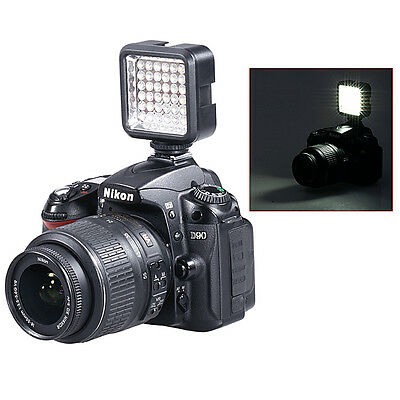 Bestlight Video Light 36 LED Rechargeable Battery f DV Canon Nikon Camera EM#01
