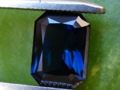 "Australian Untreated Natural Blue Sapphire Faceted 2.14 ct ""Stunning_Gemstones"""