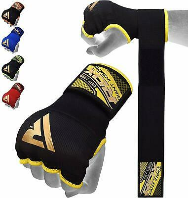 RDX Boxing Hand Wraps Inner Gloves MMA Elasticated Fist Protector MuayThai