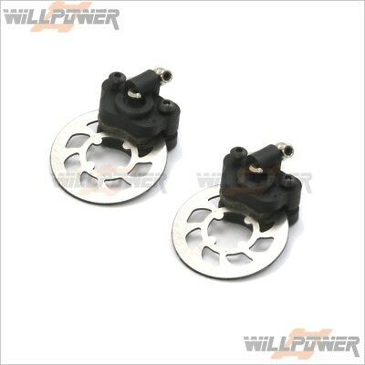 Z-Car Z10XB Super Strong Brake System / Plastic Bace #10815P-1 (RC-WillPower)