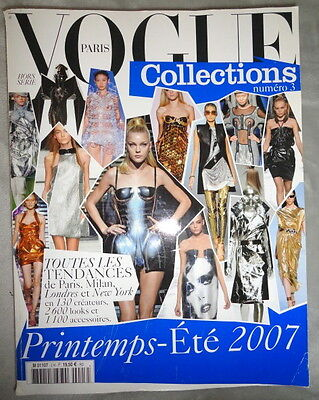 Vogue Paris Collections #3 Spring Summer 2007 Chanel Prada Versace French Gucci
