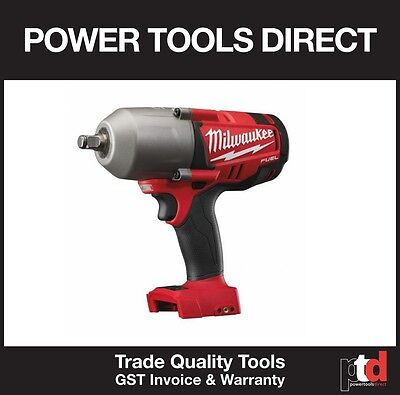 Brand New Milwaukee 18V Fuel Cordless M18Chiwf12-0 Impact Wrench (Friction Ring)