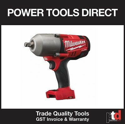 New Milwaukee 18V Fuel Cordless M18Chiwf12-0 Impact Wrench (Friction Ring)