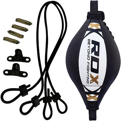 RDX Speed Ball Boxing Floor to Ceiling Leather  Double End Punching Training Bag