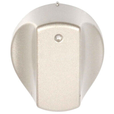 Silver Control Knob Switch for HOTPOINT Hot-Ari ix Oven Cooker Hob Spare Part