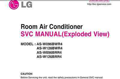 Lg Air Condition Service Manual