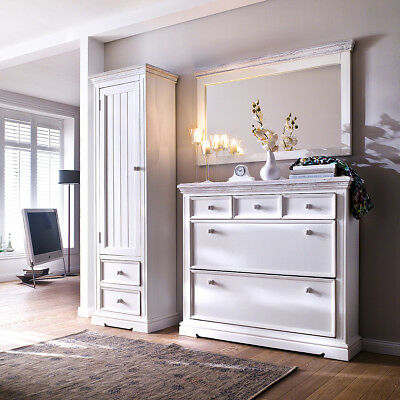 wandpaneel 1 opus garderobe paneel wandpaneel kiefer massiv wei vintage eur 178 95 picclick de. Black Bedroom Furniture Sets. Home Design Ideas