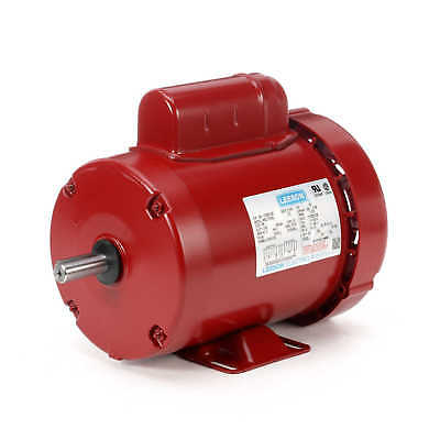 Leeson 110087.00 M6C17FB9L 3/4 Hp 1725 Rpm Electric Motor 1-ph 115/208-230 VAC