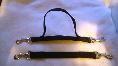 horse single or double strap balance  straps 25mm standard or  cushion webbing