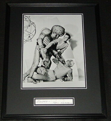 Rex Reason Signed Framed 16x20 Poster Photo Display This Island Earth