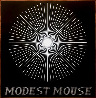 MODEST MOUSE Reissue Vintage Logo Ltd Ed RARE LARGE Poster +FREE Indie Poster!