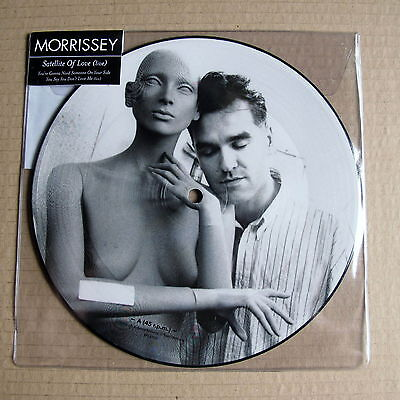 "The Smiths Morrissey Satellite of Live (Live) Mint 7"" Picture Disc"