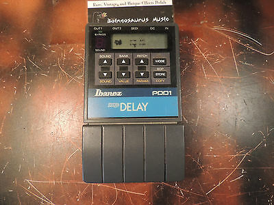 Ibanez Pdd-1 Dcp Programmable Digital Delay Effects Pedal Made In Japan