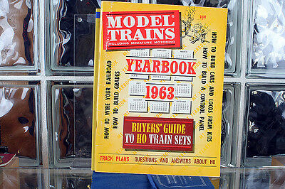 Model Trains 1963 Yearbook Including Miniature Motoring