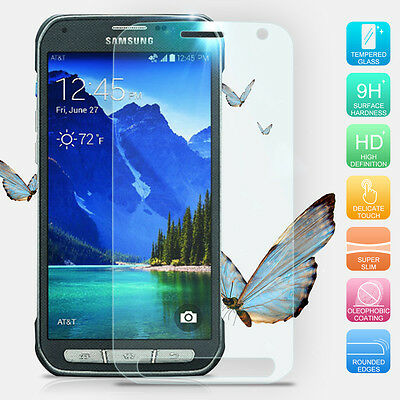 Premium Real Tempered Glass Screen Protector For Samsung Galaxy S6 Active G890