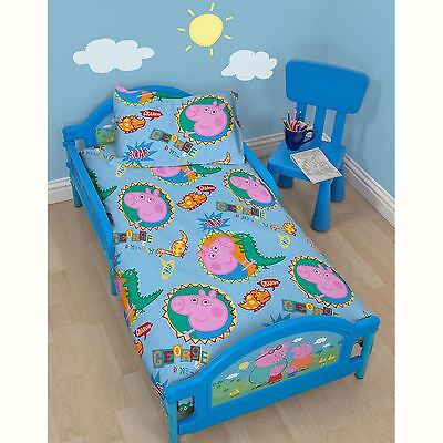 Peppa Pig George Toddler Junior Bed - Three Mattress Options Available