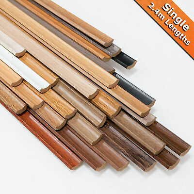 Laminate Flooring Scotia Beading 2.4m Lengths Edging Trim MDF CHEAPEST PRICES!