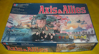 AXIS & ALLIES Gioco in Scatola MB 1986 (da Tavolo) e and  »»»»» COMPLETO
