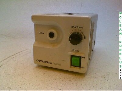 Olympus Optical CLH-2 Endoscopic Halogen Light Source Power Tested
