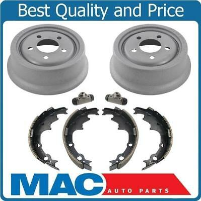 Rear Brake Drums 9 x 2.5 Inch & Brake Shoes for a 90-00 Jeep Cherokee