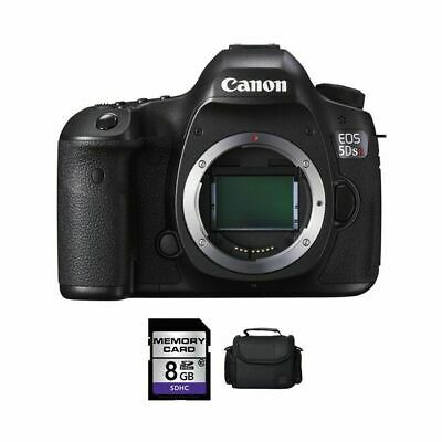 Canon EOS 5DS R DSLR Camera + 8GB & Case
