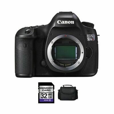 Canon EOS 5DS R DSLR Camera + 32GB & Case